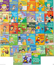 Read with Biff Chip  Kipper Level 1-3 Collection 33 Books Oxford Reading Tree
