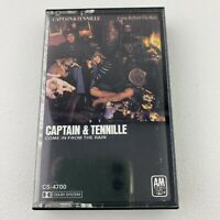 Captain & Tennille Come In From The Rain Cassette Tape 1977
