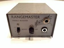 VINTAGE ORIGINAL 1960's DALLAS RANGEMASTER TREBLE BOOSTER GUITAR EFFECT PEDAL