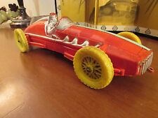 "AUBURN RUBBER RACE CAR ROLLS FAST INDY 500 ANTIQUE VINTAGE 10.5"" INDIANAPOLIS @!"