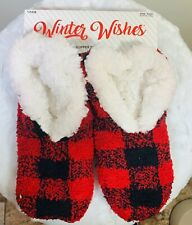 Winter Wishes Slipper socks with grippers -  NEW