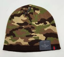 Tommy Hilfiger Beanie Camouflage Colors Cold Weather Accessory It/518