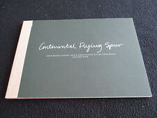 2011 12 Bentley Continental Flying Spur GT Small Catalog Detailed 50-pg Brochure