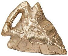 Rare Nate Berkus Arrowhead Figural Gold Color Metal Decor Paperweight