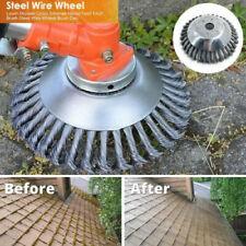 Lawn Mower Grass Cutter Trimmer Part Head Twist Knot Steel Wire Wheel Brush Disc