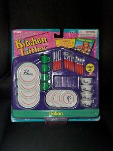 Vintage Tyco Kitchen Littles Dinnerware #2019-3 Italian 1995