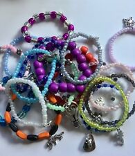 Stretchy 10 bracelet bundle, party favours, stocking fillers for kids