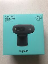 NEW Logitech C270 HD Webcam 720p **In Hand Ready To Ship Same Day Of Purchase**