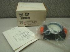 "Orange Research 1201-E1031 Differential Pressure Gauge, 1/4"""