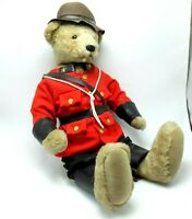 Sergeant Sgt Preston Canadian Mountie Bear Jointed Stuffed Bearly There Inc