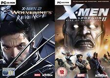 X Men 2-Wolverines Revenge y X-Men Legends II Rise of Apocalypse