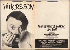 SON OF HITLER__Original 1978 Trade AD promo_poster__BUD CORT__PETER CUSHING_1979