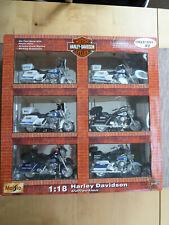 Harley Davidson Collection, 6 Police Modelle 1:18 Maisto, OVP