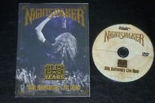 NIGHTSTALKER 25th Anniversary Live Show 25 YEARS DVD