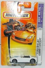 2006 MATCHBOX MBX METAL FORD SHELBY COBRA CONCEPT NEW