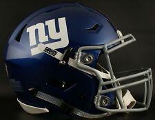 *CUSTOM* NEW YORK GIANTS NFL Riddell SpeedFlex AUTHENTIC Football Helmet