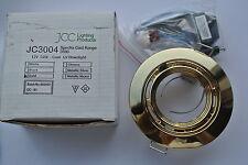 JCC jc3004 Spectra CAST fisso proiettorino da incasso GOLD 60mm Ritaglio prende tutte le lampadine mr16!