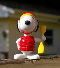 Snoopy New Zealand Poseable Figurine Articulated McDonald's Toy World Tour Boat