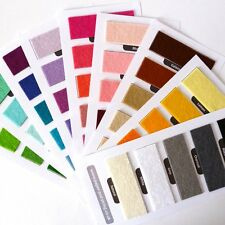 SWATCH SET all 60 colours of our Premium Wool Blend Felt  40% wool