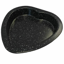 Non-Stick Love Heart Shaped Baking Cooking Cake Tin Tray Steel Pan Valentines