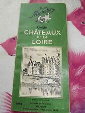guide michelin vert chateaux de la loire 1948