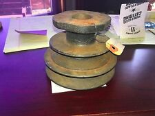 1948 1949 1950 1951 FORD TRUCK NOS CRANK SHAFT DOUBLE PULLEY NOS FOMOCO