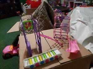 Mattel Kelly Doll Barbie Playground Slide Jungle Gym