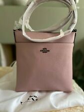 Brand New Coach Messenger Leather Crossbody Bag Pink