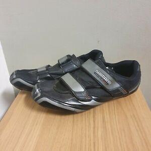 Shimano RD64 SH R064 Road Cycling Shoes Carbon EUR46 UK 11 Black 3 Bolt Pedaling