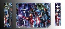 Avengers Captain America Iron Man Thor Hulk Video Game SKIN for Nintendo Wii