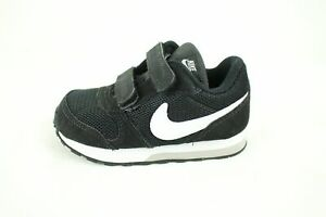 Nike MD Runner 2 TDV Jungen Sneaker Schuhe Schwarz Leder 806255 Gr.23,5 Neu Ovp