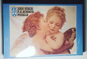 "[NEW] F.X. Schmid 1000-Piece Puzzle Cupid's Kiss 20""x27"""