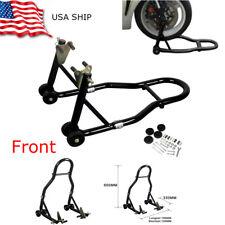 sport bike motorcycle wheel lift stand front fork rear Swingarm spool combo USA