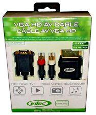 XBOX 360 VGA HD AV CABLE 8 FOOT (2.4 METERS)