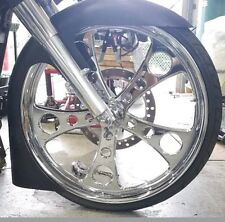 "26""  Fl/wrap #2 Combo Harley Davidson front fender Flh Touring Fiberglass"