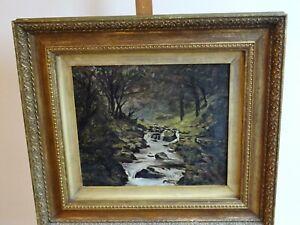 19th century oil painting (W Walker)