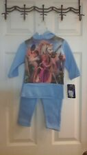 Disney, Tangled infant Size 24M, hooded Sweatsuit, Multi Color, NWT