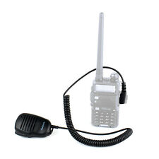 New 2-pin PTT Speaker Microphone For Radio KENWOOD H777 BAOFENG HYT PUXING Radio