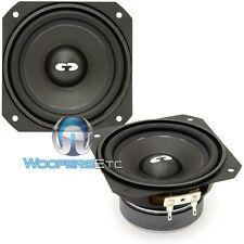 """CDT AUDIO CL-4 4"""" CLASSIC SERIES 4 OHM CAR AUDIO MIDRANGE MIDS SPEAKERS NEW PAIR"""