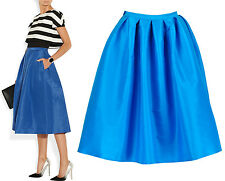Below Knee Rayon Full Skirts for Women