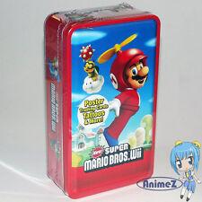 Nuevo Super Mario Bros. Wii Trading Card Collector's Lata Feat. Mario * Nuevo *