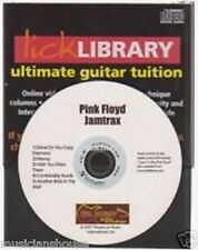 Lick Library PINK FLOYD Guitar Jamtrax Play Jam Trax CD ROCK LEARN MONEY HITS