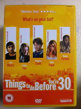 Billie Piper Jimi Mistri Dougray Scott THINGS TO DO BEFORE YOU'RE 30 UK DVD