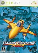 Used Xbox 360 Raiden Fighters Aces JAPAN JP JAPANESE JAPONAIS IMPORT