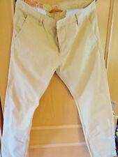 Jeans calcetines para vaqueros Dockers pantalones Alpha slim * caqui amarillo * talla 36 x 32