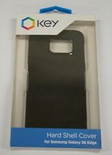 Key Hard Shell Cell Phone Case Samsung Galaxy S6 Edge - Black (IL/PL1-4570-SC...