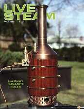 Live Steam V23 N 5 May 1989 Lou Morin's Diana-Mite Boiler