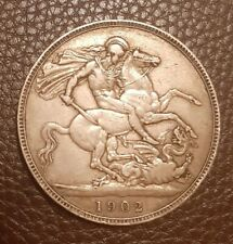 More details for 1902 edward vll crown coin