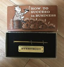 1968 Franco American Novelty HOW TO SUCCEED IN BUSINESS gag gift