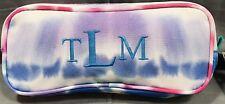 """Pottery Barn Pb Teen Tie Dye Gear Up Pencil Case """"Tlm� Monogram"""